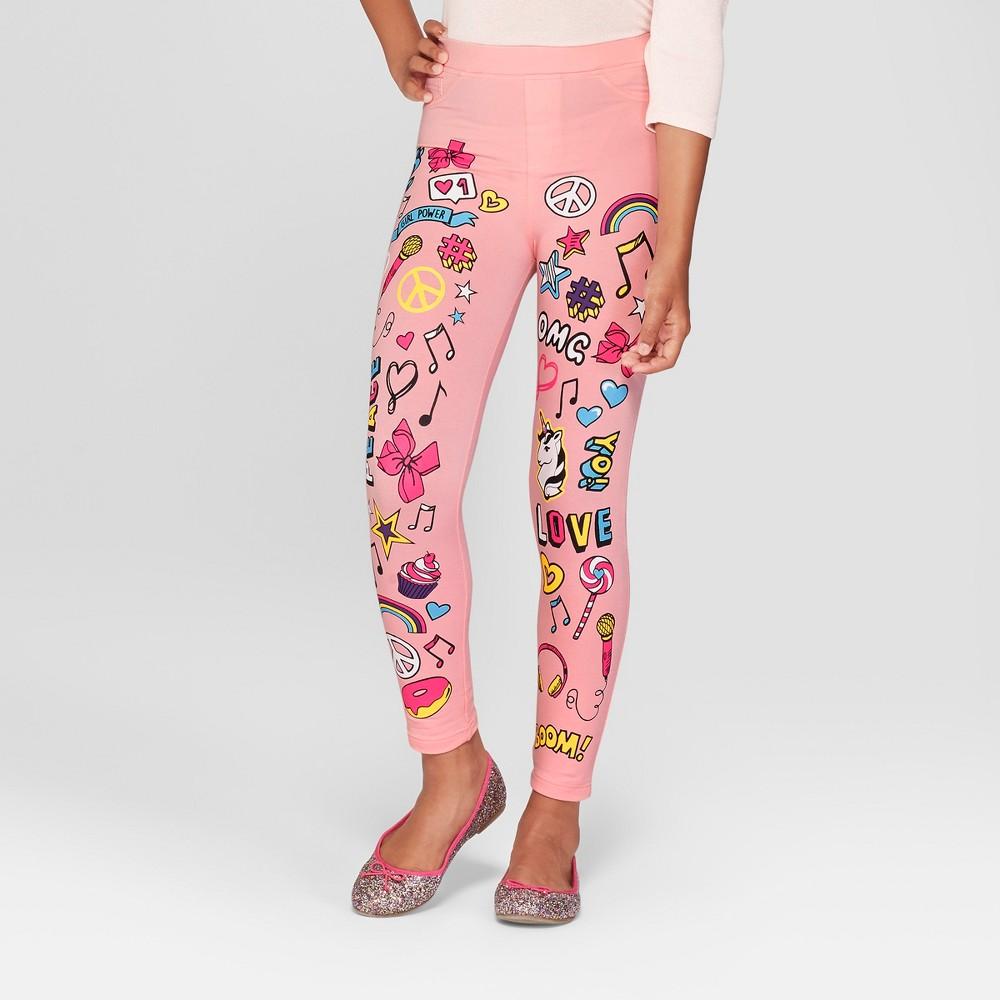 Girls' Nickelodeon JoJo's Closet Graphic Pants - Pink M