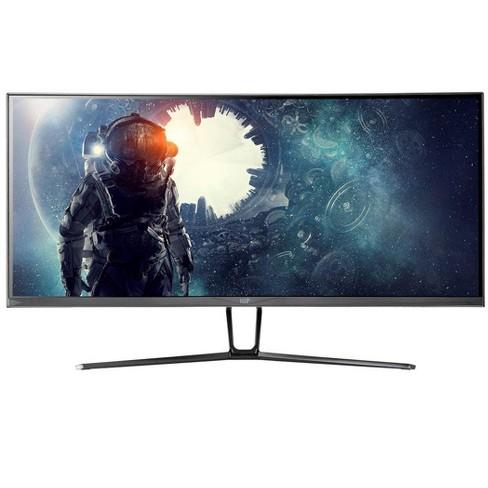 Monoprice Zero-G Curved Gaming Monitor - 35 Inch, UWQHD, 21:9 Ratio, 100Hz  Refresh Rate, 4ms, VA, A+ Grade Panel