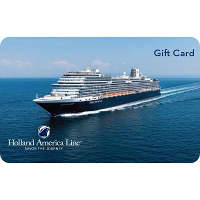 Holland America Giftcard (Email Delivery)