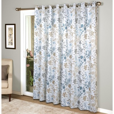 "Lakeside Lakeside Patio Door Room Darkening Panel Curtain - 100""W x 84""L"