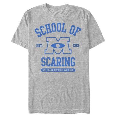Men's Monsters Inc School of Scaring T-Shirt
