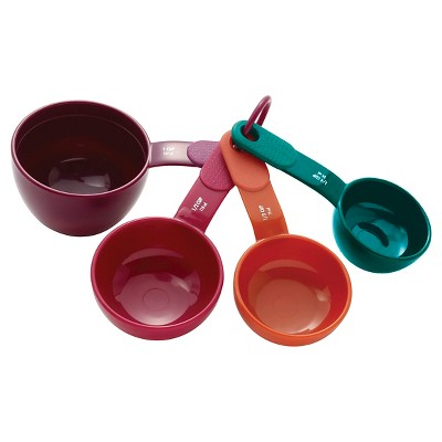 KitchenAid Measuring Cups Plastic 4 Piece Set