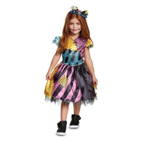 540b5764944f Toddler Girls  The Nightmare Before Christmas Sally Halloween ...