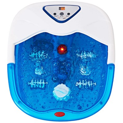 Costway Electrical Foot Basin Tub Point Massage Home Use Health Heating Infrared Ray