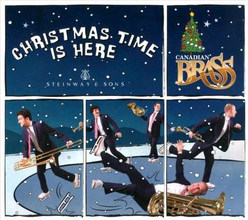 Canadian brass - Christmas time is here (CD) - image 1 of 1