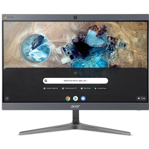 "Acer Chromebase 24I2 23.8"" Intel Celeron 3867U 1.8GHz 4GB Ram 128GB SSD ChromeOS - Manufacturer Refurbished - image 1 of 4"