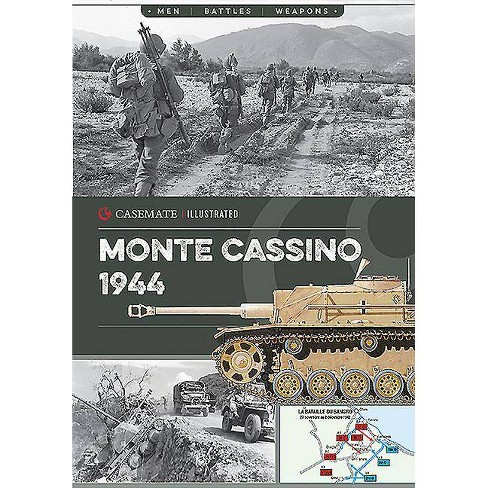Monte Cassino, 1944 - (Casemate Illustrated) by  Yves Buffetaut (Paperback) - image 1 of 1