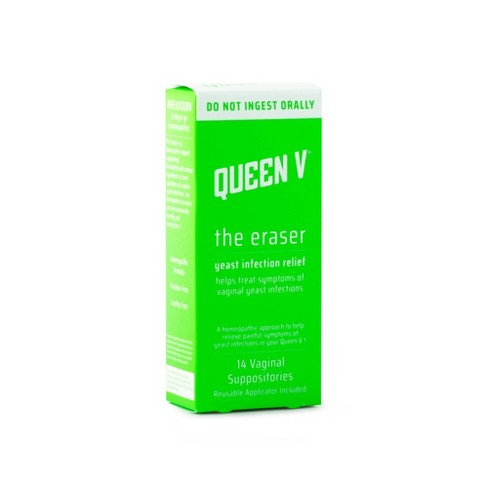 Queen V Yeast Infection Relief - 14ct - image 1 of 2