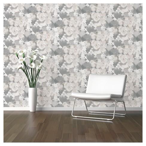 Devine Color Bouquet Floral Peel Stick Wallpaper Mirage Target