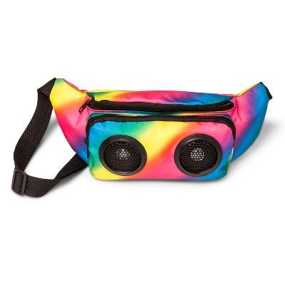 Pride Rainbow Speaker Fanny Pack - Osfm