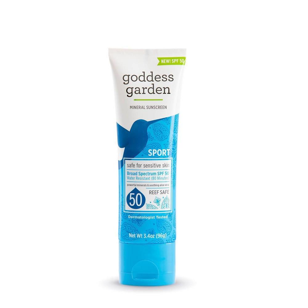 Image of Goddess Garden Mineral Sunscreen - SPF 50 - 3.4oz