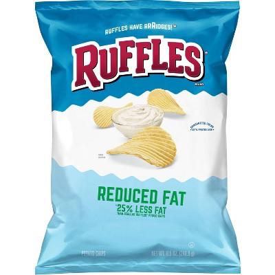 Potato Chips: Ruffles Reduced Fat