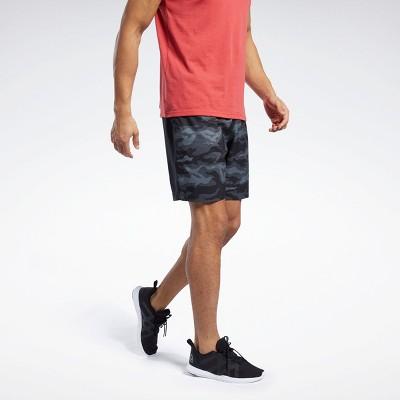 Reebok Workout Ready Graphic Shorts Mens Athletic Shorts
