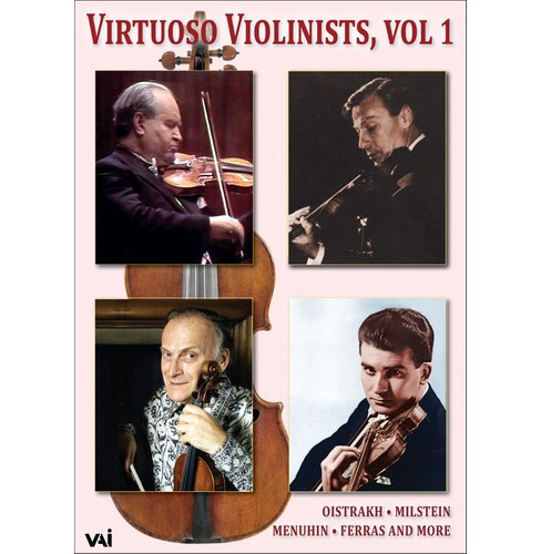 Virtuoso Violinists:Vol 1 (DVD) - image 1 of 1
