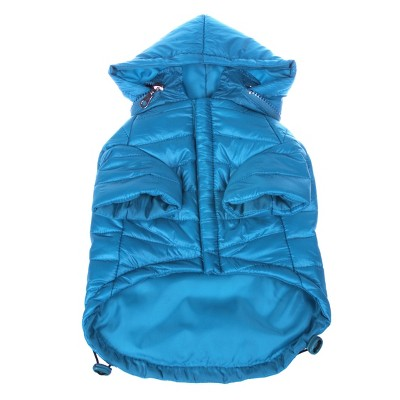 Pet Life Lightweight Adjustable 'Sporty Avalanche' Dog and Cat Coat - Blue