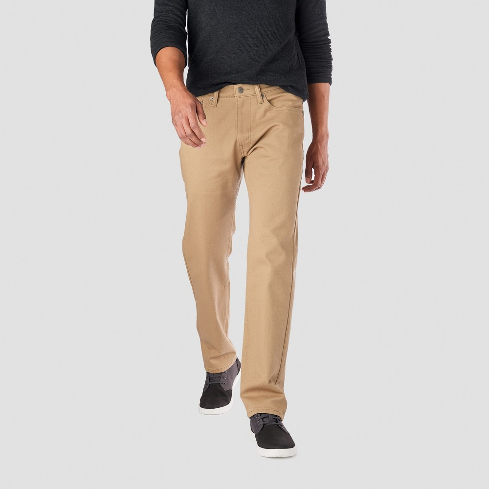 Denizen from Levi's Men's 236 Regular Straight Fit Jeans - British Khaki 34x34