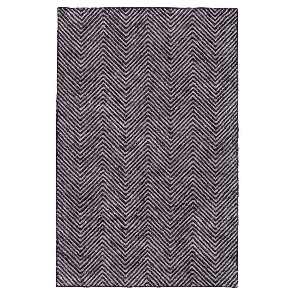 Gray Solid Woven Accent Rug - (3'X5') - Surya, Medium Gray