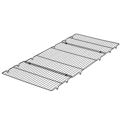 "Wilton 16"" Expand and Fold Non-Stick Cooling Rack"