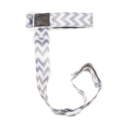 SippiGrip Sippy Cup Strap - Gray Chevron