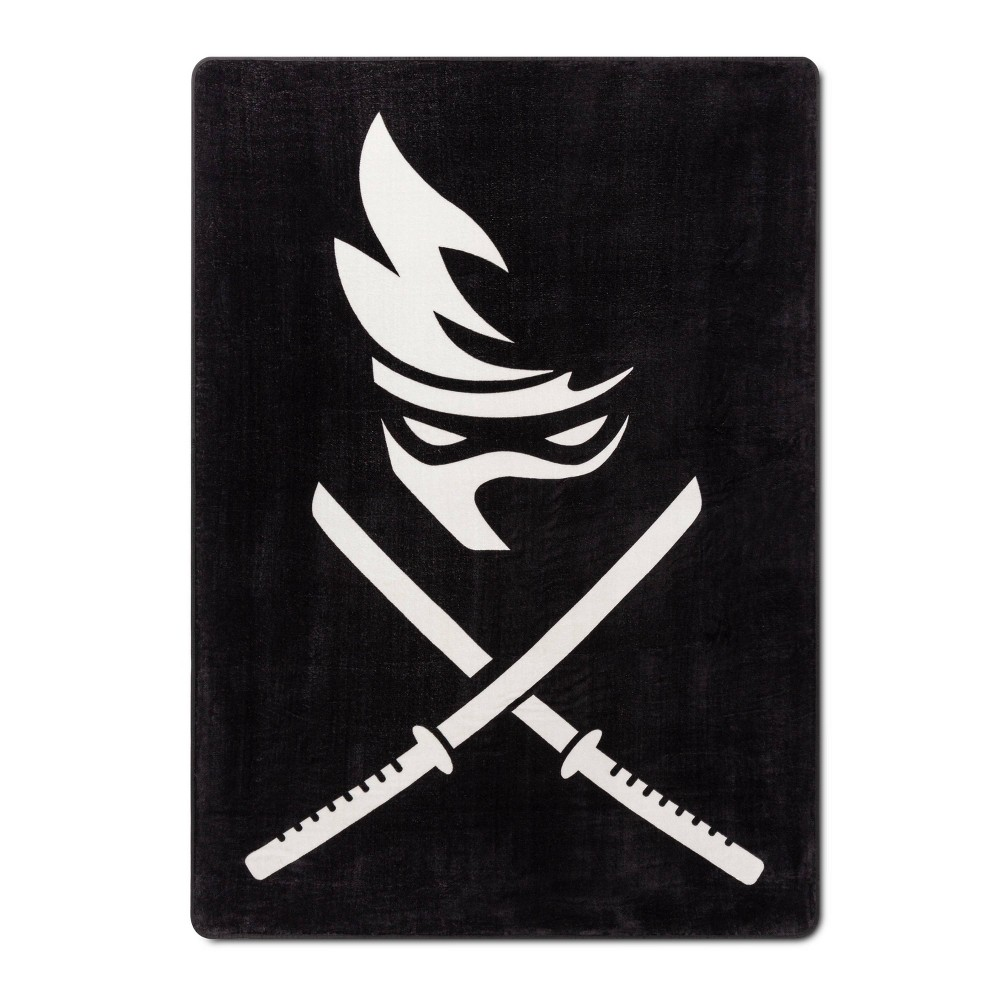 Image of Team Ninja Twin Stripe Blanket Black