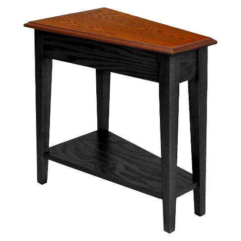 Favorite Finds Recliner Wedge Table Slate Finish - Leick Home - image 1 of 7