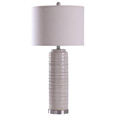 Anastasia Table Lamp Buff Beige - StyleCraft