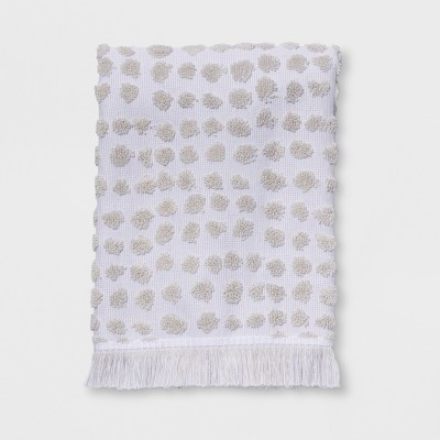 Sculpted Dot Hand Towel White - Project 62™