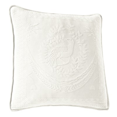 White King Charles Matelasse Throw Pillow (20x20 )- Historic Charleston