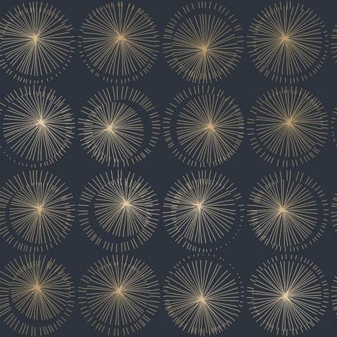 Tempaper Goodbye Moon Midnight Self Adhesive Removable Wallpaper Target