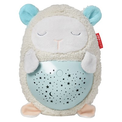 Skip Hop MOONLIGHT MELODIES Hug Me Projection Soother - Lamb