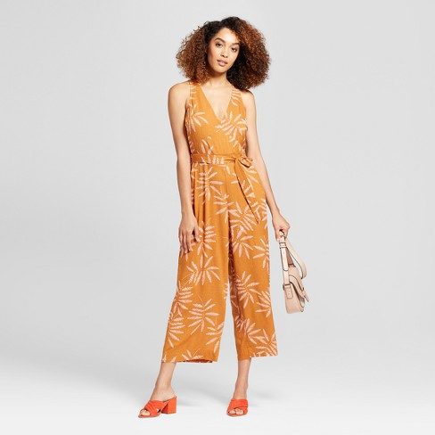 31600509718e Women s Printed Jumpsuit - A New Day™ Rust   Target