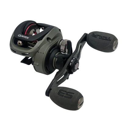 Quantum Tour S3 PT Baitcasting Fishing Reel, 10+1 Bearings, 6.1:1 Gear Ratio, Size 100