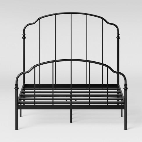 Ferndale Metal Bed Black - Threshold™ - image 1 of 2