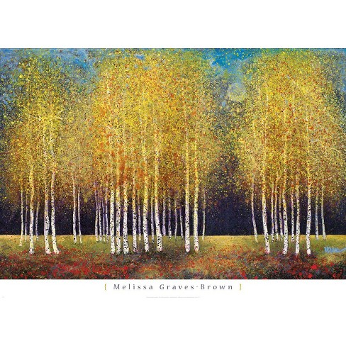 Art.com - Golden Grove Mounted Print - image 1 of 1
