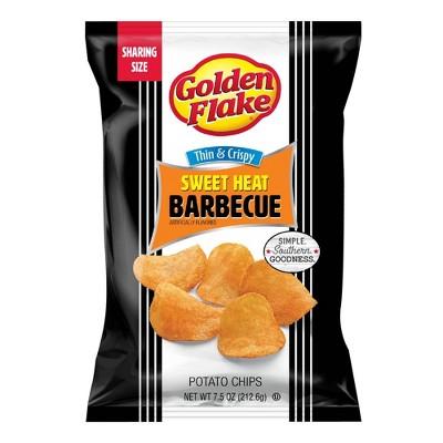 Golden Flake Sweet Heat BBQ Chips - 7.5oz