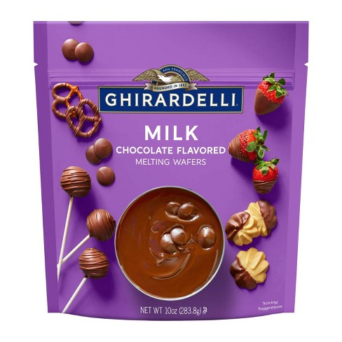 Ghirardelli Milk Chocolate Melting Wafers - 10oz - image 1 of 4