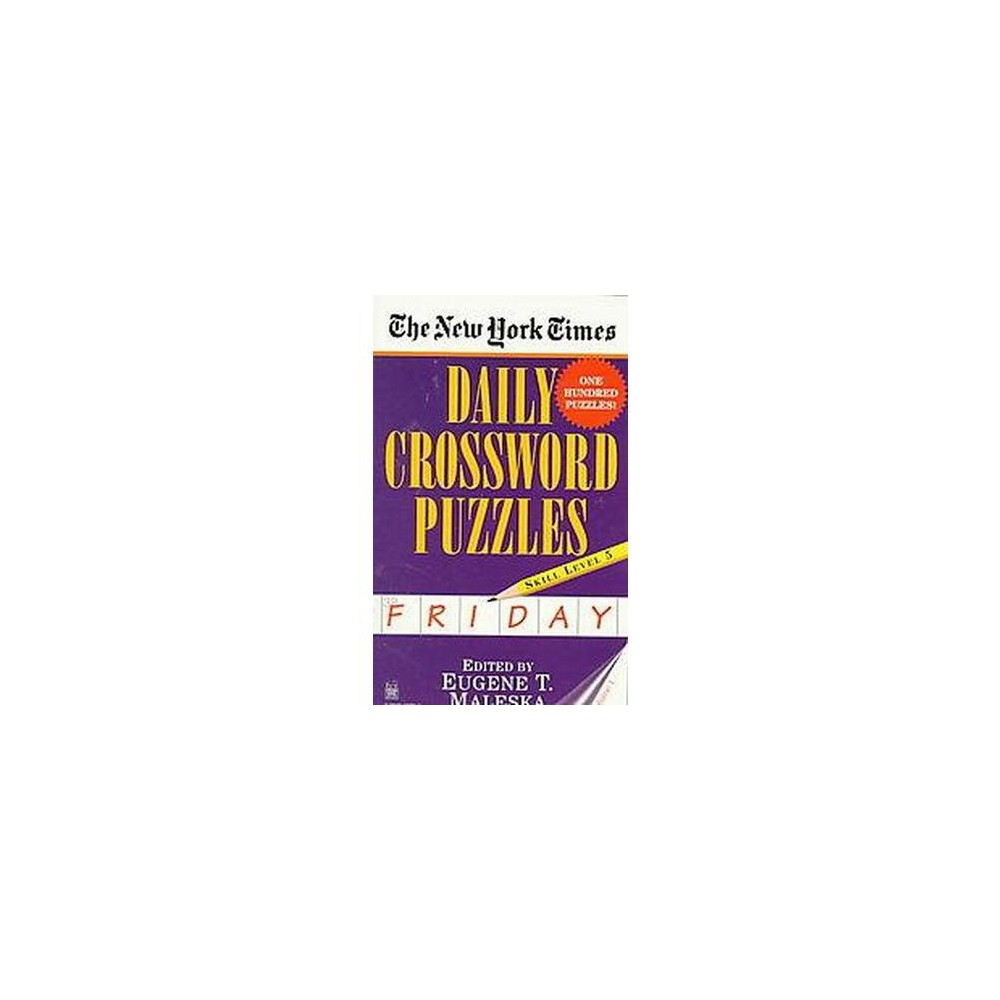 New York Times Daily Crossword Puzzles : Friday (Vol 1) (Paperback)