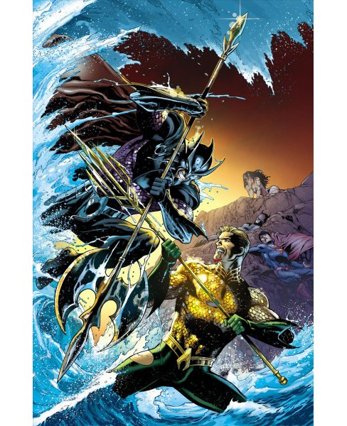 Aquaman - War for the Throne -  (Aquaman) by Geoff Johns (Paperback) - image 1 of 1
