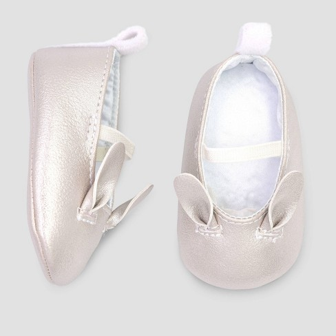 Baby Girls' Bunny Mary Jane Shoe - Just One You® made by carter's White - image 1 of 1