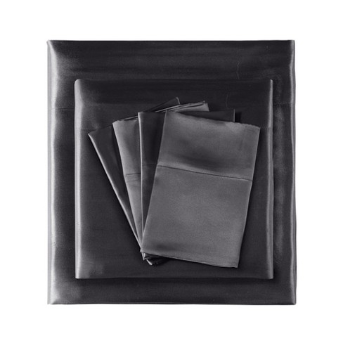 Solid Satin 6pc Wrinkle Free Luxurious Sheet Set - image 1 of 5