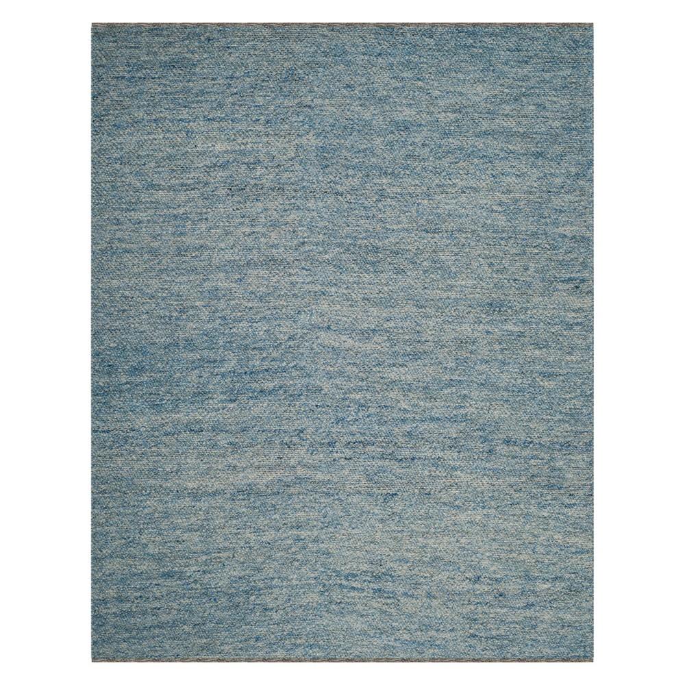 9'X12' Geometric Woven Area Rug Blue - Safavieh