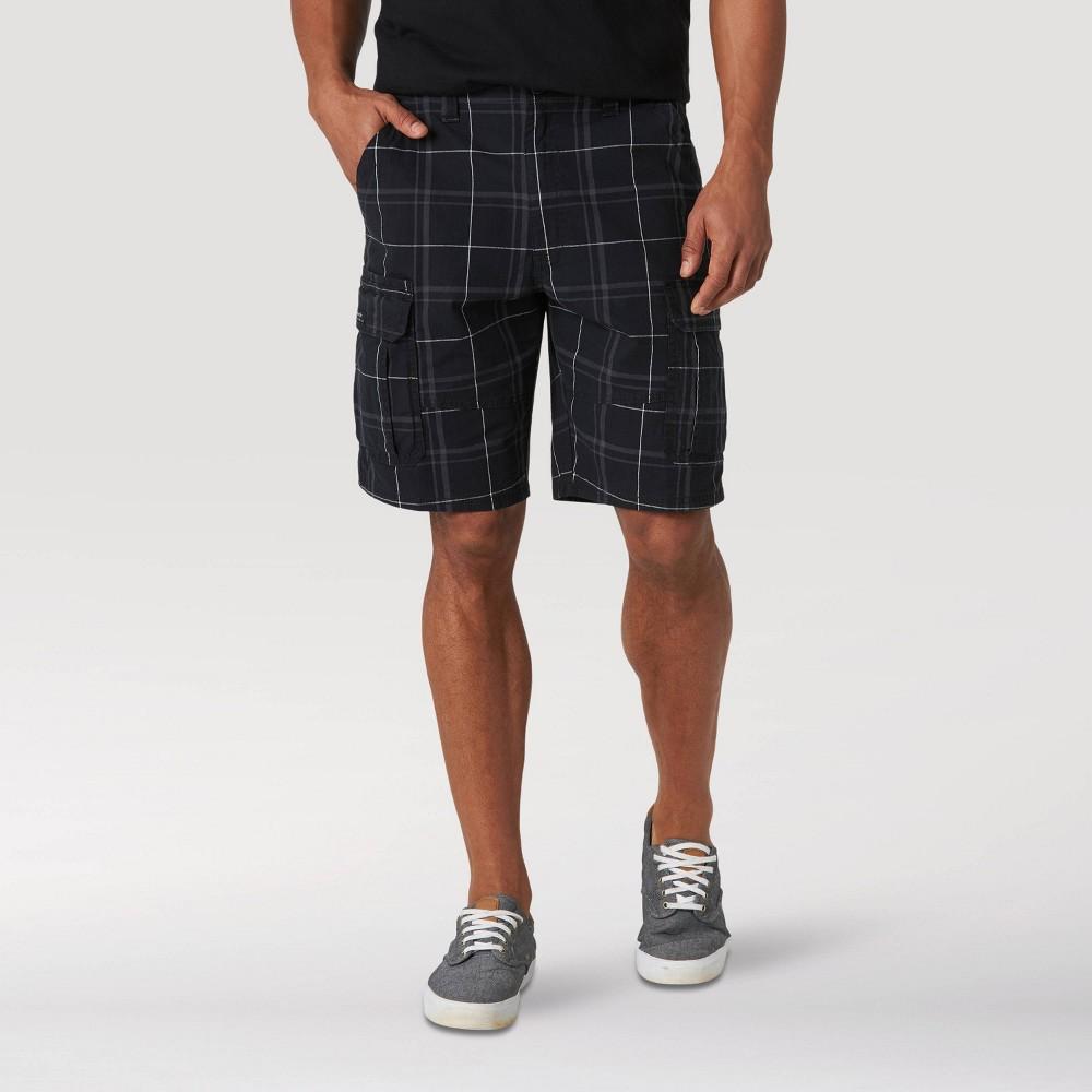 """Image of """"Wrangler Men's 10"""""""" Cargo Shorts - Black 30, Men's"""""""