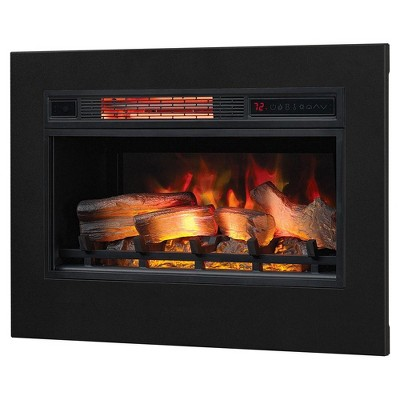 ClassicFlame 3D Spectrafire Plus Infrared Fireplace Insert & Flush Mount Kit