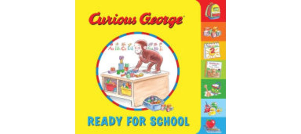 HOUGHTON MIFFLIN Curious George Ready for School (Paperba...