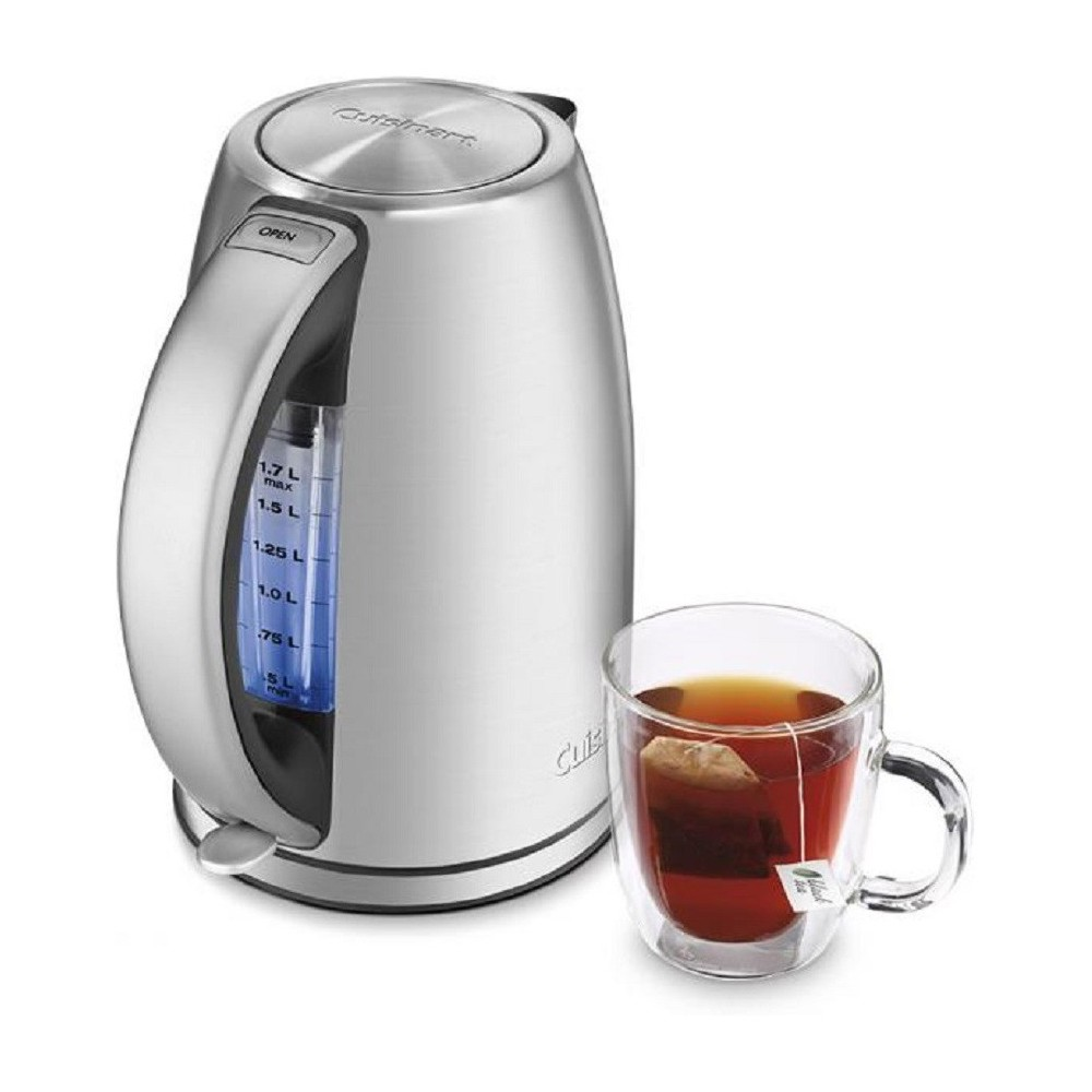 Cuisinart Cordless Electric Kettle – Stainless Steel JK-17, Grey 21398020