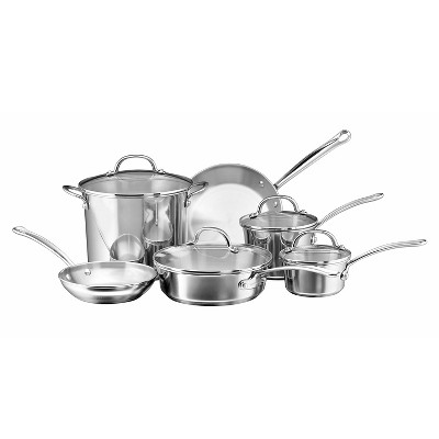 Farberware Stainless Steel 10Pc Cookware Set