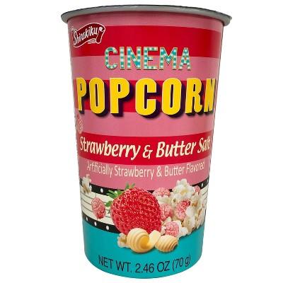 Shirakiku Cinema Strawberry & Butter Salt Popcorn - 2.46oz