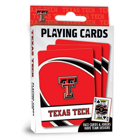 NCAA Texas Tech Red Raiders Playing Cards - image 1 of 1