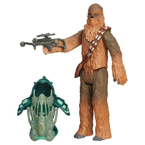Star Wars The Force Awakens 3.75-Inch Figure Forest Mission Armor Chewbacca - image 1 of 12
