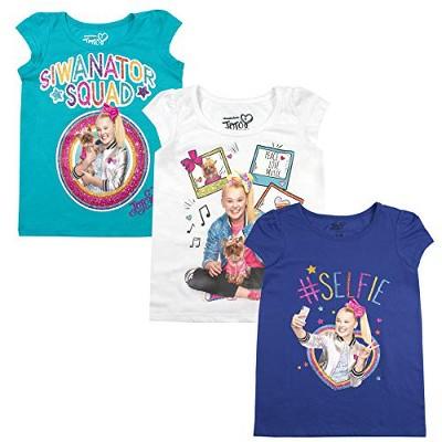 Nickelodeon Kids JoJo Siwa JoJo Siwa Celebrity Mini Cap Sleeve Round T-shirt - Blue 6X